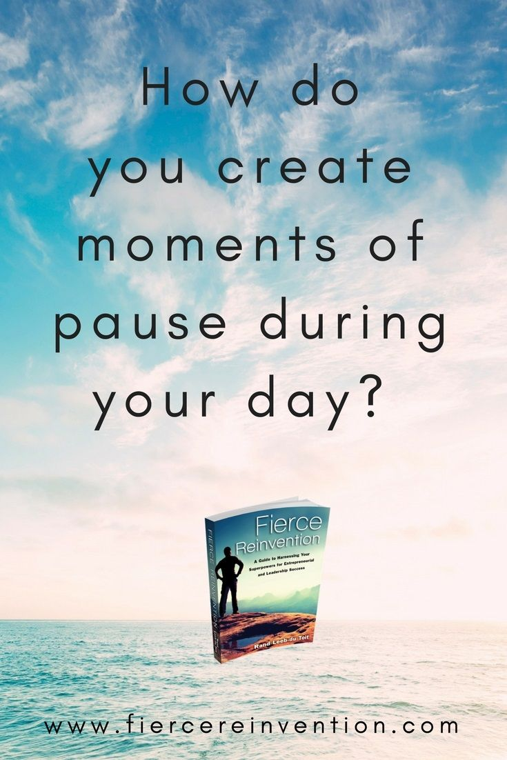 Create moments of pause #meditation #mindfulness
