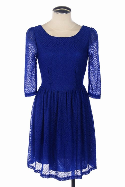 CHEVRON LACE DRESS shopmodmint.com