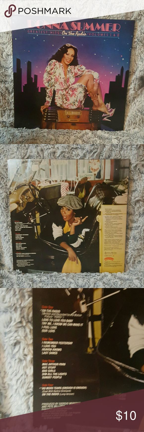 Donna Summer Vinyl Greatest hits on the radio volumes 1 and 2 Other