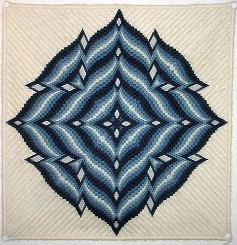 CREATIVE SPHERE: Bargello Needlepoint