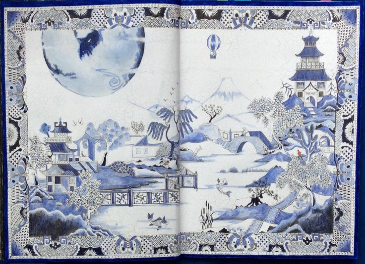 Fantastisches Malbuch Chinese Garden. Coloured by Prue from Colouring+ with Prue