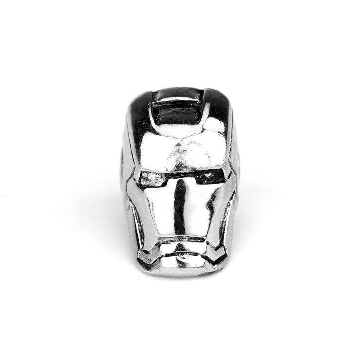 Goedkope Gratis verzending 1 st Super Enorme Heavy IRON MAN Helm HERO 316L Rvs Ring, koop Kwaliteit ringen rechtstreeks van Leveranciers van China: nieuwe Collectie Verklaring Sieraden Superheld Iron Man 3 Tony Stark Mark Matel 3D Ring Factorynieuwe collectie klik h