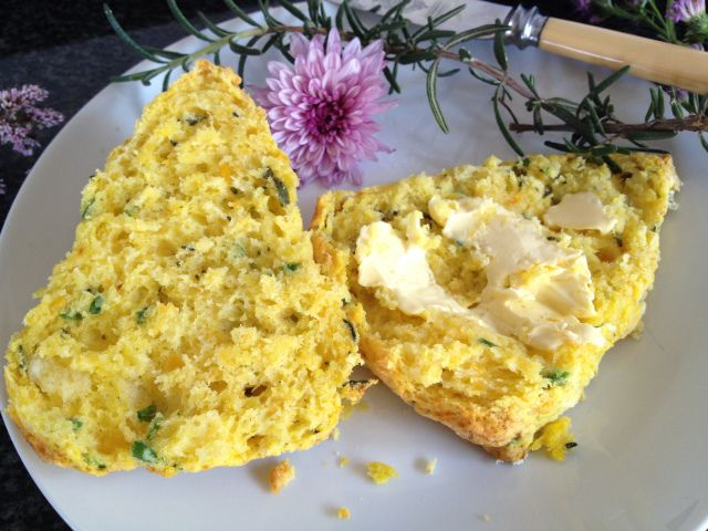 Butternut and Herb Scones
