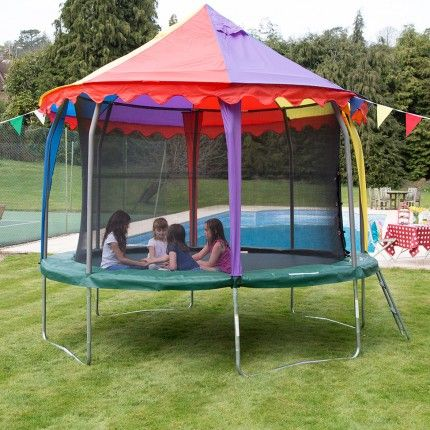 12ft Jumpking Tr&oline Canopy Tent | Capital Play & 11 best trampoline images on Pinterest | Springboard Trampolines ...