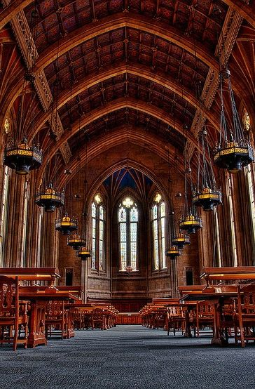 Suzzallo Library Is The Central Of University Washington In Seattle Reading Room Harry Potter My Favorite Place To Study