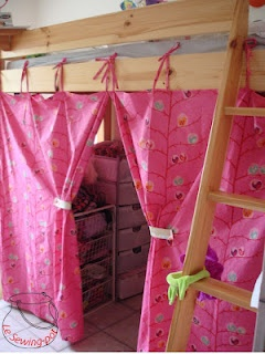 Rideaux de lit / Bed curtains
