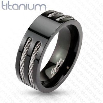 Very cool man ring. My hubby needs a new wedding ring. This is a pretty cool site.