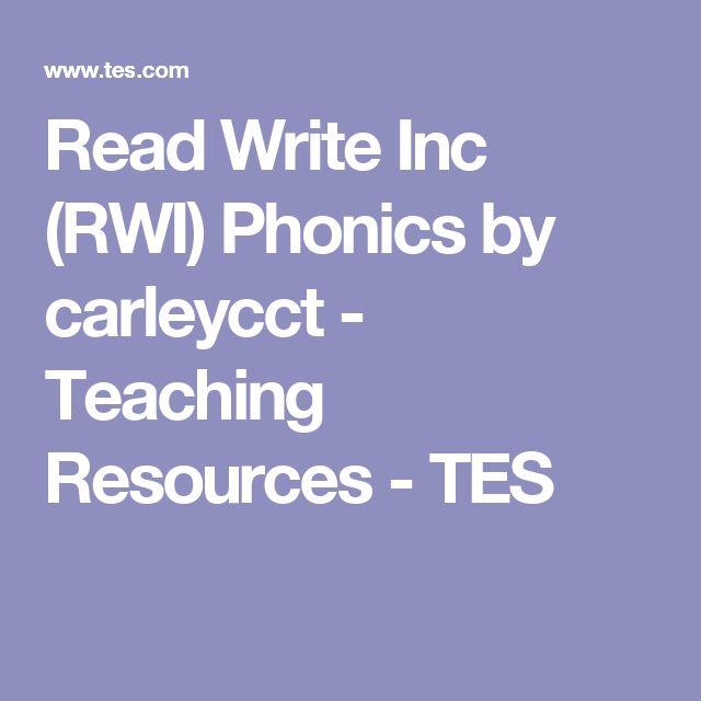 Read Write Inc. Phonics - New Edition