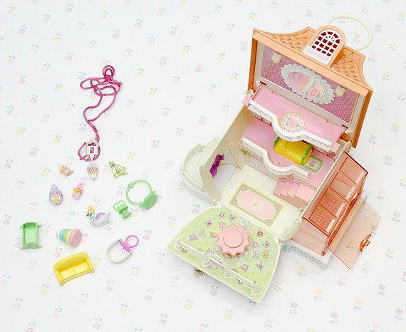 Vintage 80s Charmkins Jewelry House & Toy Accessories Hasbro