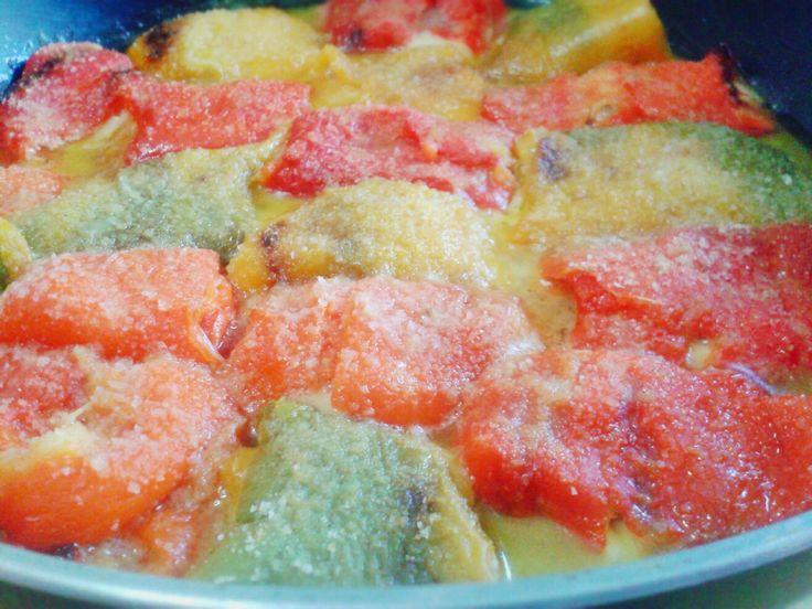 Involtini di peperoni http://www.lovecooking.it/antipasti-e-contorni/involtini-di-peperoni/
