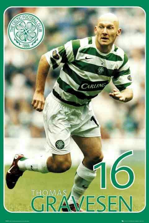 Thomas Gravesen of Celtic in 2006.