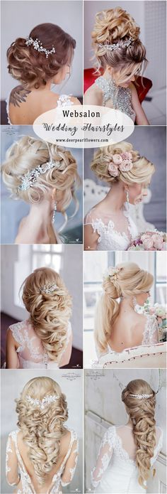 Websalon Long Wedding Hairstyles and Wedding Updos #weddingideas #hairstyle #fashion #wedding http://www.deerpearlflowers.com/long-wedding-hairstyles-from-top-8-hairstylists/
