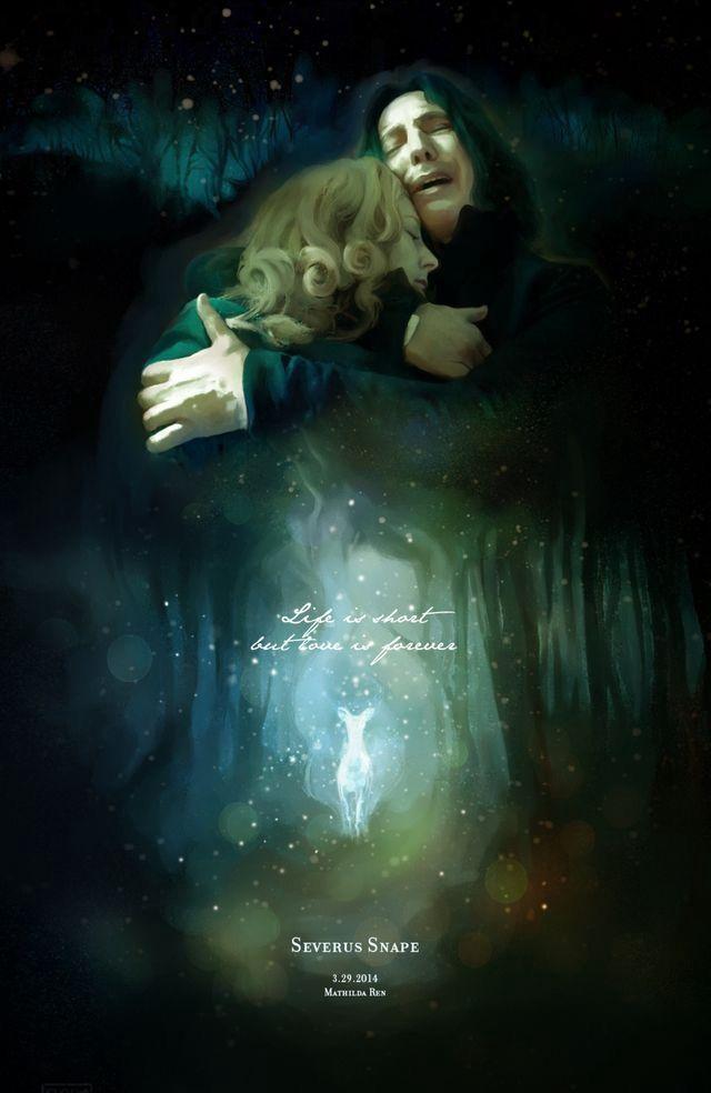 Wo Geschichten Leben Geschichten Leben In 2020 Harry Potter Severus Snape Harry Potter Snape And Lily