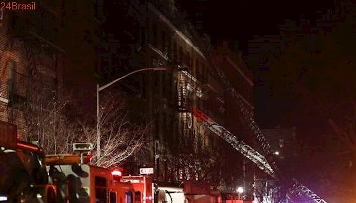 Criança brincando com fogão pode ter iniciado incêndio em Nova York