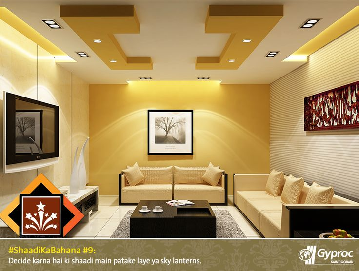 Gypsum Ceiling Designs For Living Room Interesting 10 Best Shaadi Ka Bahana Images On Pinterest  Blankets Ceilings Review