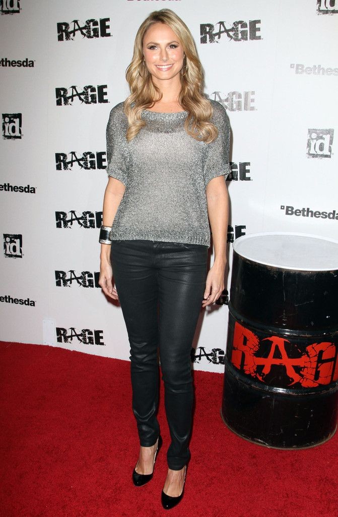 Stacy Keibler - Rage Video Game Official Launch Party