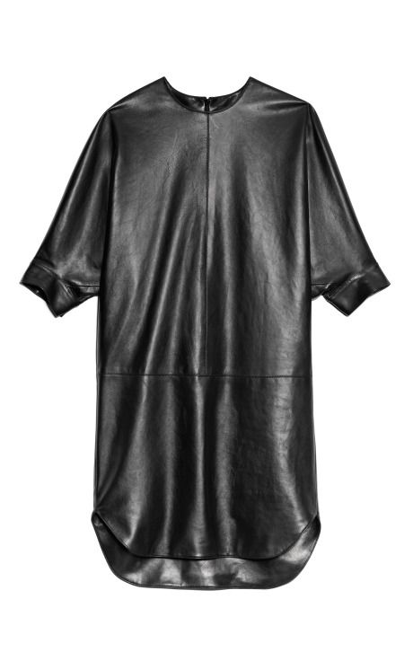 Shop Plonge Lamb Dolman Sleeve Shirt Taildress by Alexander Wang for Preorder on Moda Operandi