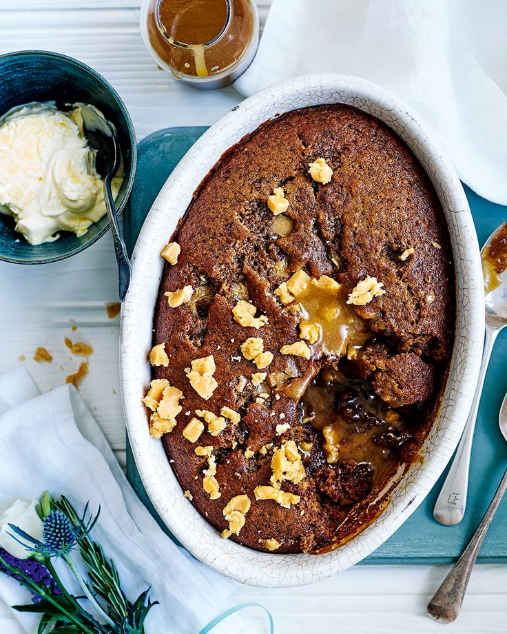 Warming spice, gooey Cornish fudge and a sweet dates – Paul Ainsworth's pudding recipe will become a new family favourite this winter.