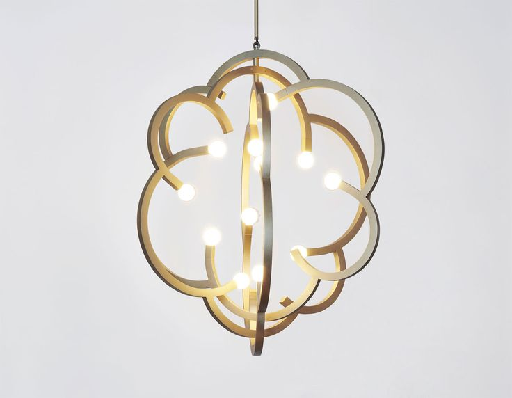 household lighting fixtures. Modern Hydrangea Gold Hanging Pendant Lights / Suspension Light For Household Lighting Fixtures