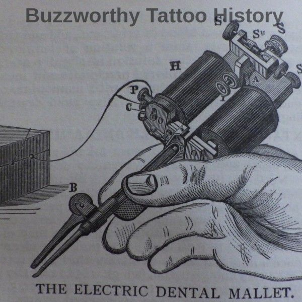 Elusive Dental Plugger Tattoo Machines By Carmen Nyssen Was the dental plugger (aka dental mallet, aka dental hammer) actually the first tattoo machine? How does it factor into electric tattoo machine history? As part of an ongoing... #charliewagnertattoo #dentalpluggertattoo #elmergetchelltattoo