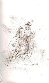 Horseman by Willem Van Cleef