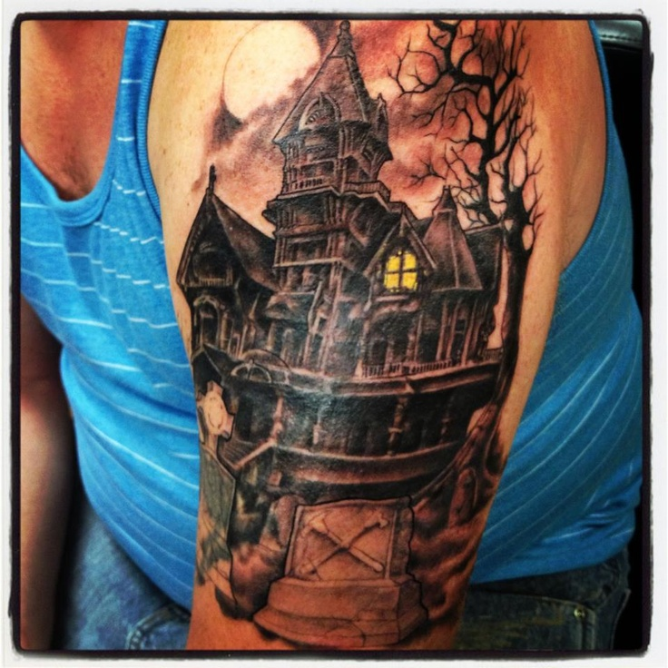 16 best tattoo ideas images on pinterest haunted house for Famous tattoos fort myers