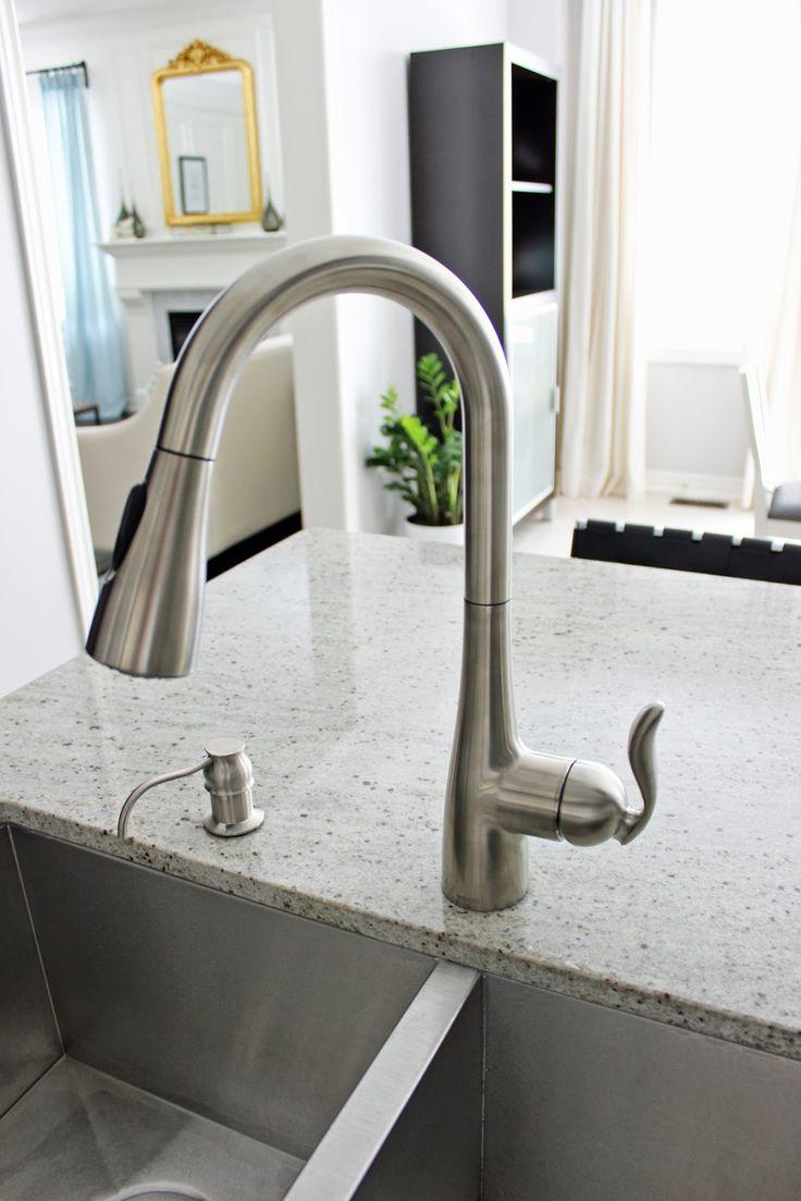 moenu0027s arbor onehandle kitchen faucet