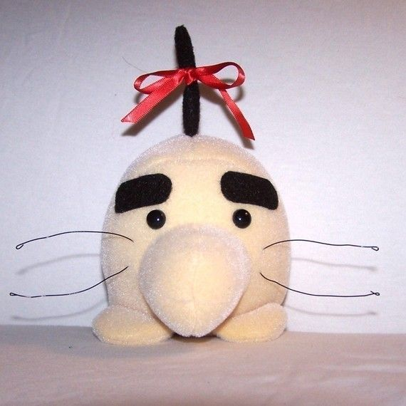NEW AND IMPROVED   Mr Saturn Plush by ClosetMonstersToys on Etsy, $26.00