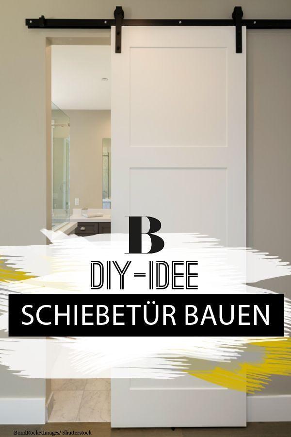 Schiebetur Bauen Von Der Kellertur Zur Wohnzimmertur Schiebetur