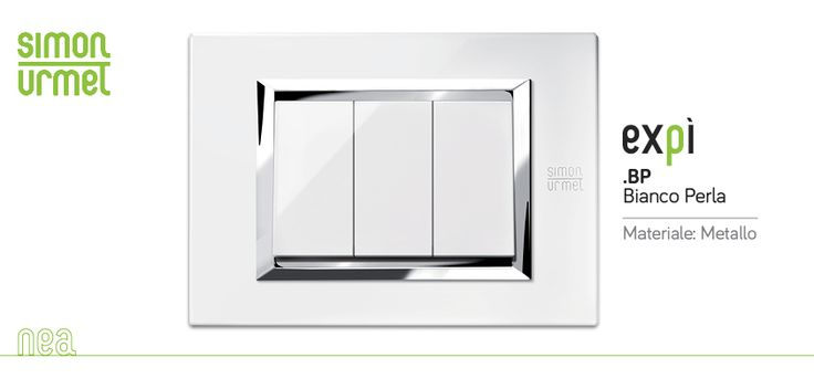 Nea Expì è un nuovo punto luce. Essenziale, dinamico, contemporaneo. Vetro, alluminio e metallo, in tante tonalità e lavorazioni differenti. Simon Urmet http://bit.ly/1hT9xmP #Nea #Expì #SimonUrmet #Placche
