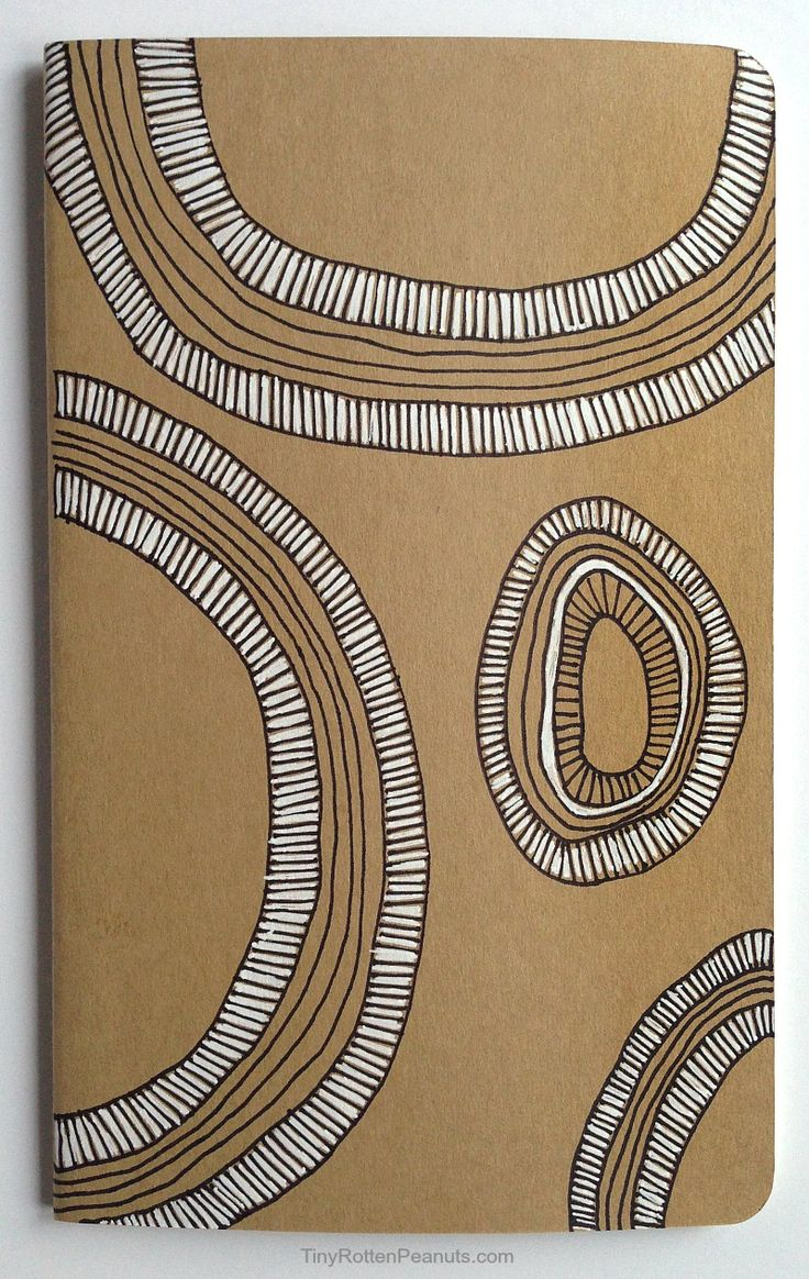 DIY Journal Covers • Craftwhack | Moleskine cover art ...