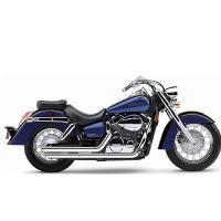 Cobra Street Rod Slashdown Exhaust System for Honda Cruisers - LeatherUp.com