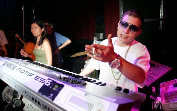 Scott Storch and his Motif & MPC's