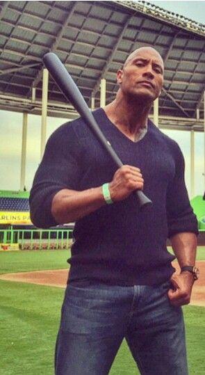 Dwayne is batting a thousand!