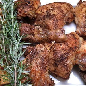 nom nom videos - Weeknight Roasted Chicken