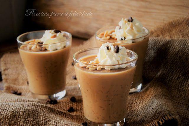 Receitas para a Felicidade!: Arroz Doce de Café com Pinhões