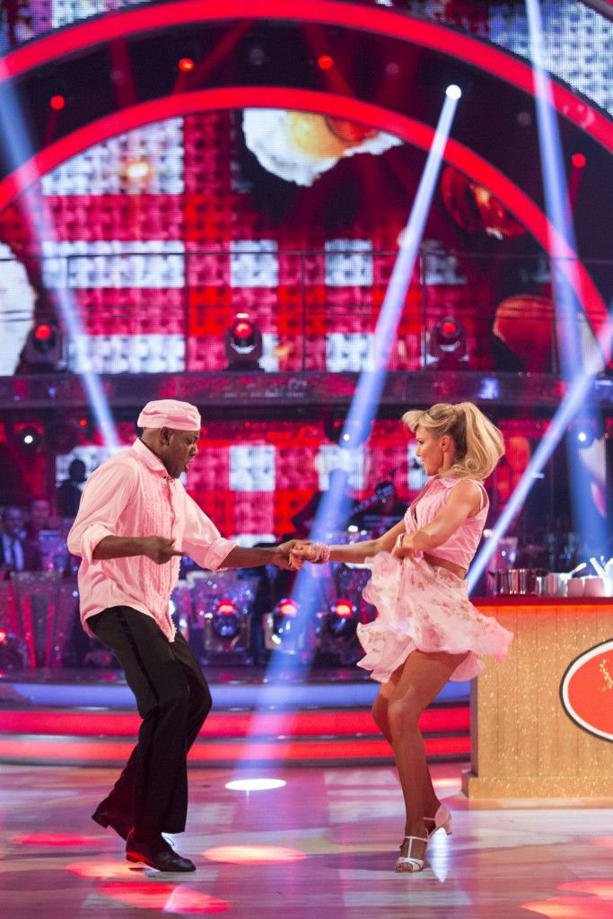 Strictly Come Dancing 2015 -  Week 5 - Ainsley and Natalie
