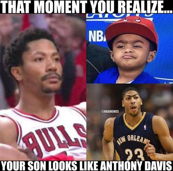 Derrick Rose's realization about his SON! #Bulls - http://nbafunnymeme.com/nba-memes/derrick-roses-realization-about-his-son-bulls
