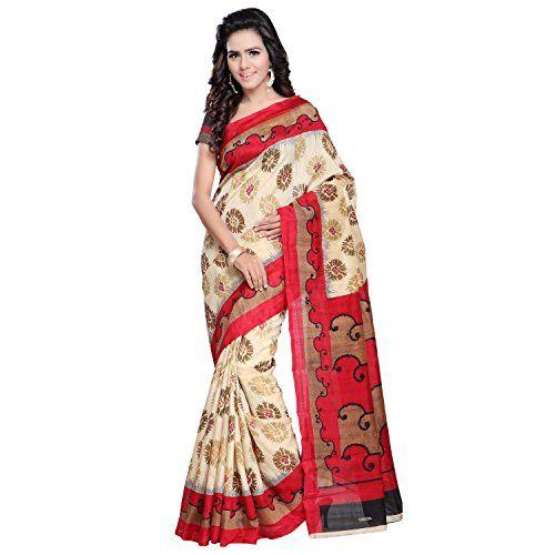 Vipul Women's Minakari Silk Saree (11447 _Red) Check more at http://www.indian-shopping.in/product/vipul-womens-minakari-silk-saree-11447-_red/
