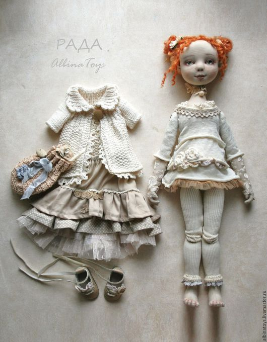 Текстильные куклы. Текстильная кукла. Бохо стиль