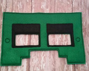 minecraft mask on Etsy, a global handmade and vintage marketplace.