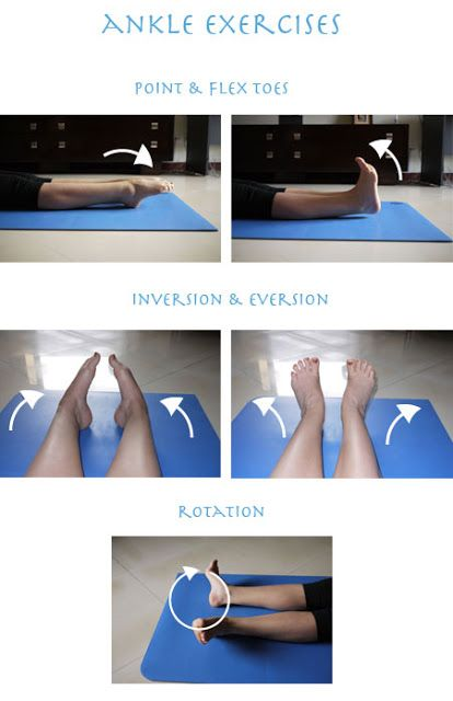 Simple Stretches for Ankles and Calves