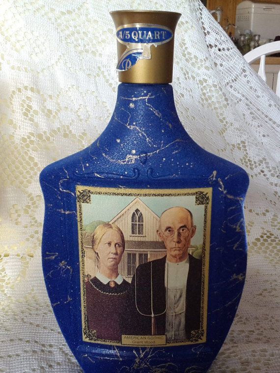 Jim Bean Decanters Beam's Choice Collector's by HamptonRanchEstate