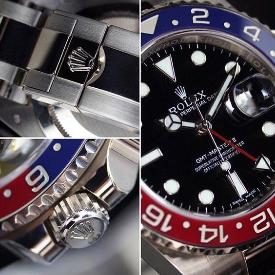 """Rolex GMT Master II """"Pepsi"""" #majordor #luxury #watches #luxuryWatches #rolexwatches"""