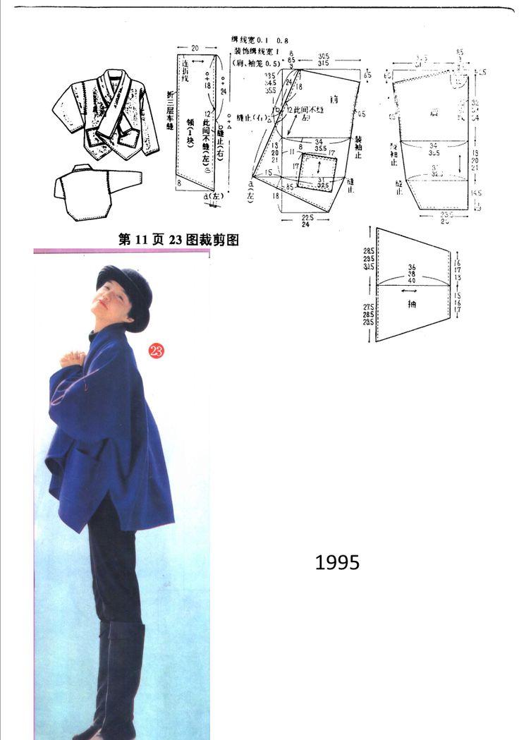 1995: Chaqueta amplia.