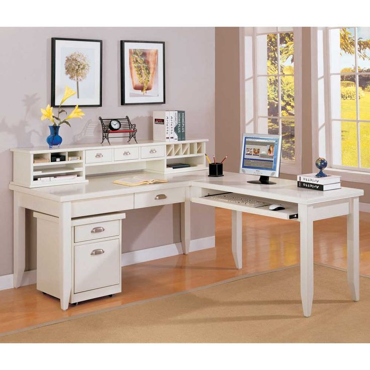 Best 25 l shaped desk ideas on pinterest - L shaped desk small space collection ...