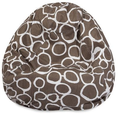 Fusion Classic Bean Bag Chair Color: Mocha - http://delanico.com/bean-bag-chairs/fusion-classic-bean-bag-chair-color-mocha-640360132/