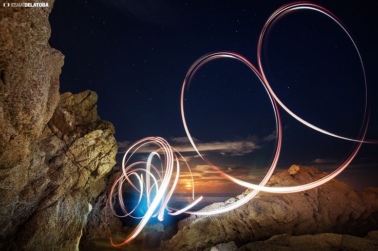 Light Painting at Cabo San Lucas, please visit more weird staff at