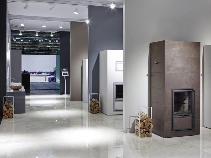 #tulikivi #messut #habitare #habitare2014 #fair #tradefair #fireplace #chocolate #brown #color #marble #floor