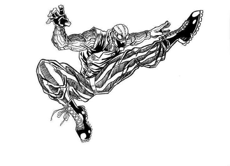 Spier-Man Noir by Eric Jimenez www.ericjimenez.tumblr.com